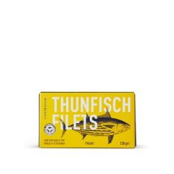 Thunfisch-Filets in pikanter Tomatensauce